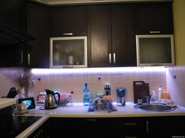 Подсветка для кухни своими руками